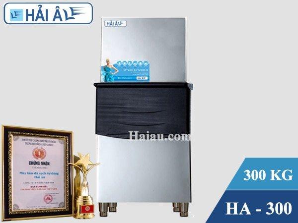 Máy làm đá Hải Âu HA 300 an toàn với môi trường (300kg/24h)