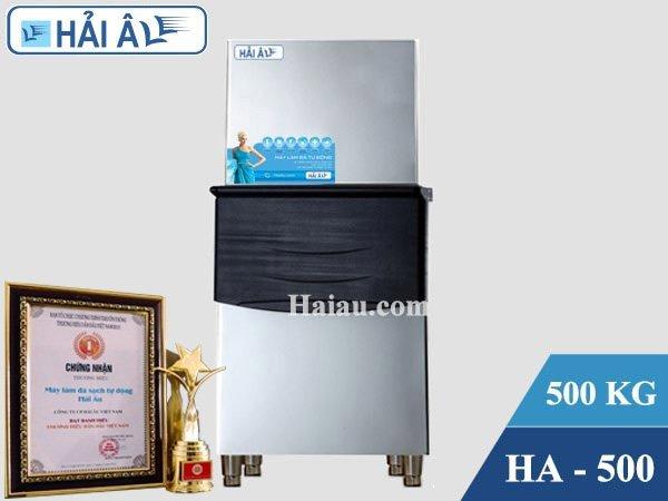 Máy làm đá Hải Âu HA 500 cùng doanh nghiệp phát triển (500kg/24h)