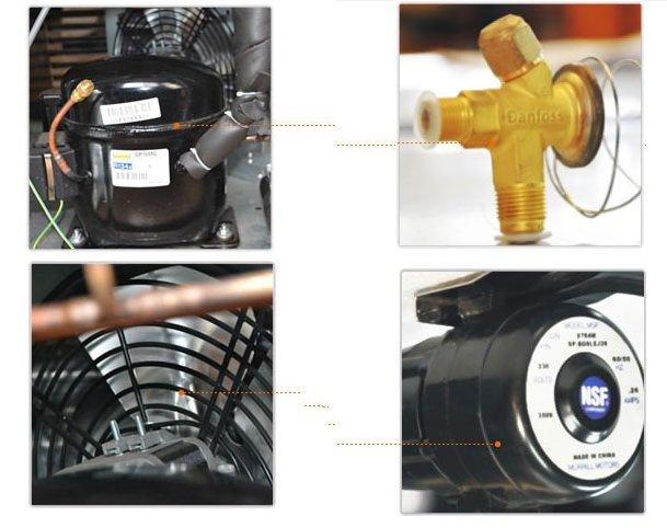 Những Sự Cố Về Dầu, Gas Và Áp Suất Tại Máy Làm Đá