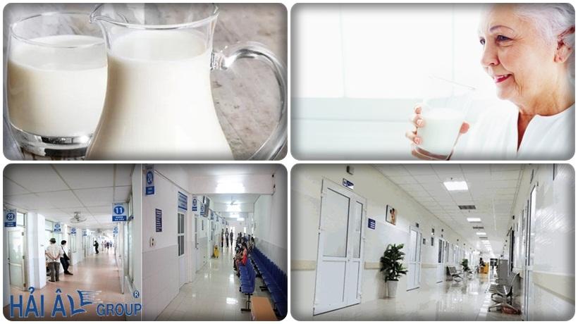 máy đun nước nóng công nghiệp tại bệnh viện
