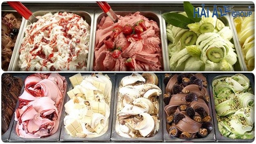 kem cân từ máy làm kem