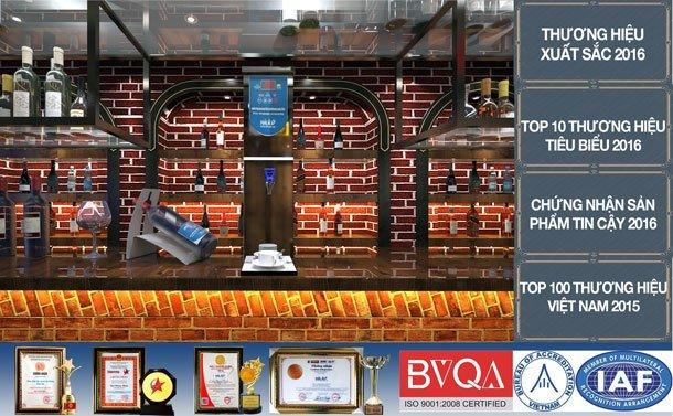 máy đun nước nóng Hải Âu tại các nhà hàng