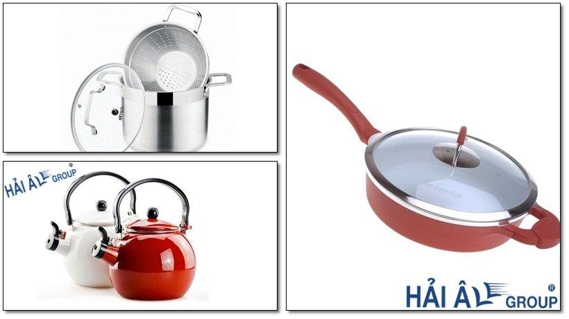 các dụng cụ đun nấu cho bếp từ